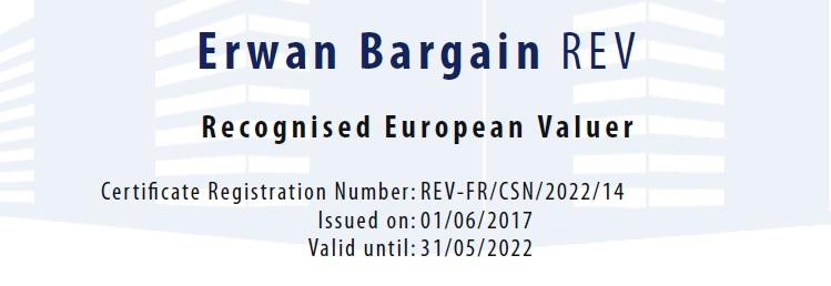 Expert certifié REV TEGOVA
